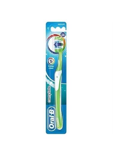 Oral-B OralB Advance Complete 5 Way Medium Diş FırÇası Renkli